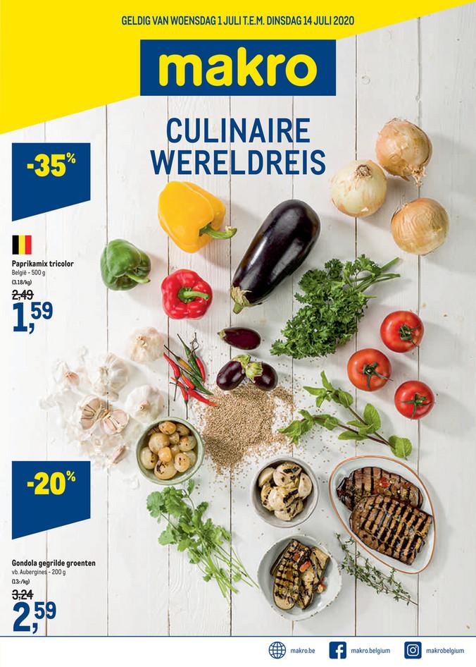 Weekpromoties 27 wereldreis food