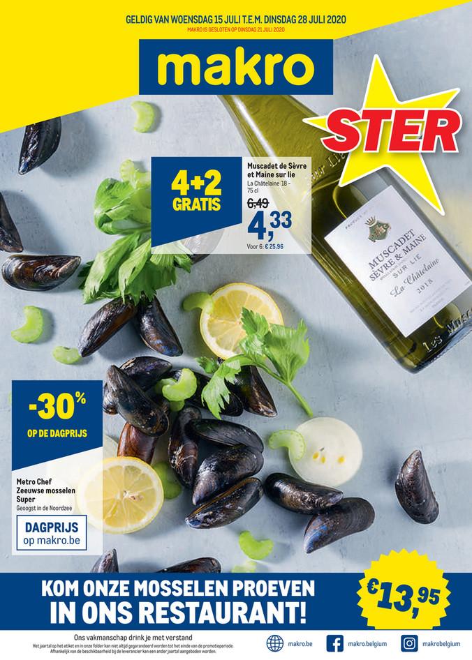 Makro folder van 15/07/2020 tot 28/07/2020 - Weekpromoties 29 food