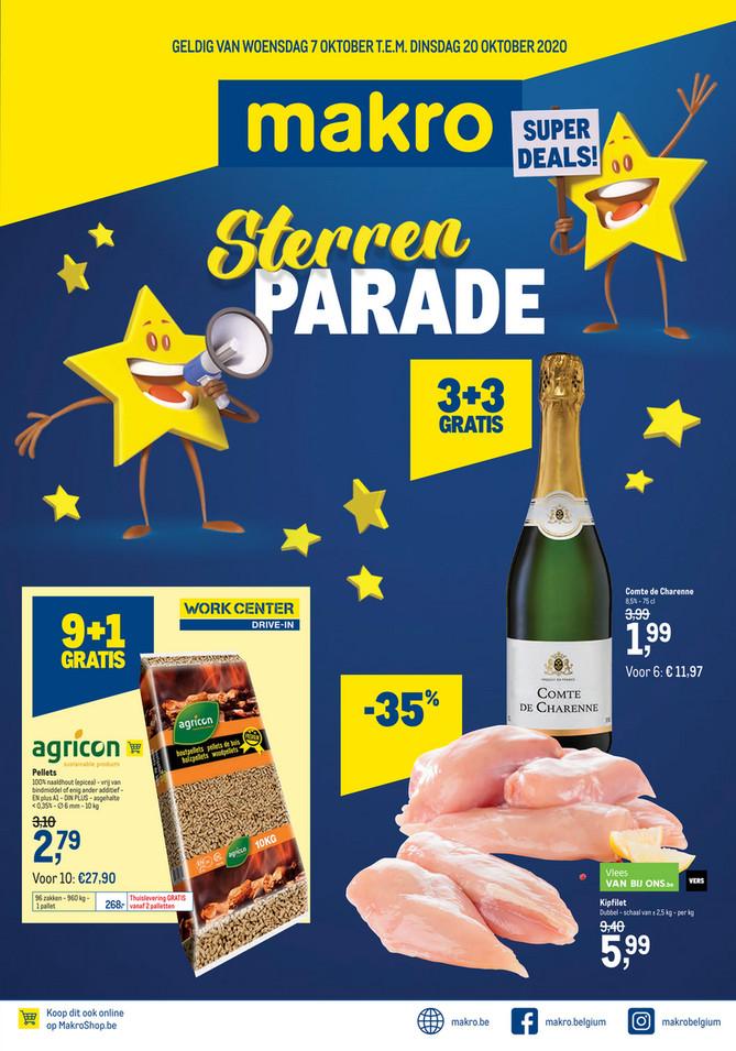Weekpromoties 41 Sterrenparade