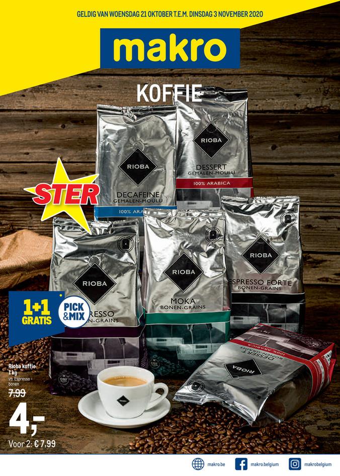 Weekpromoties 43 koffie