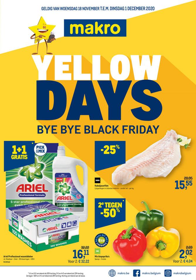Weekpromoties 47 Food Yellow Days