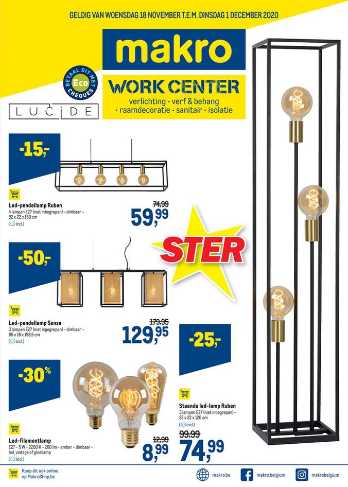 Weekpromoties 47 Workcenter