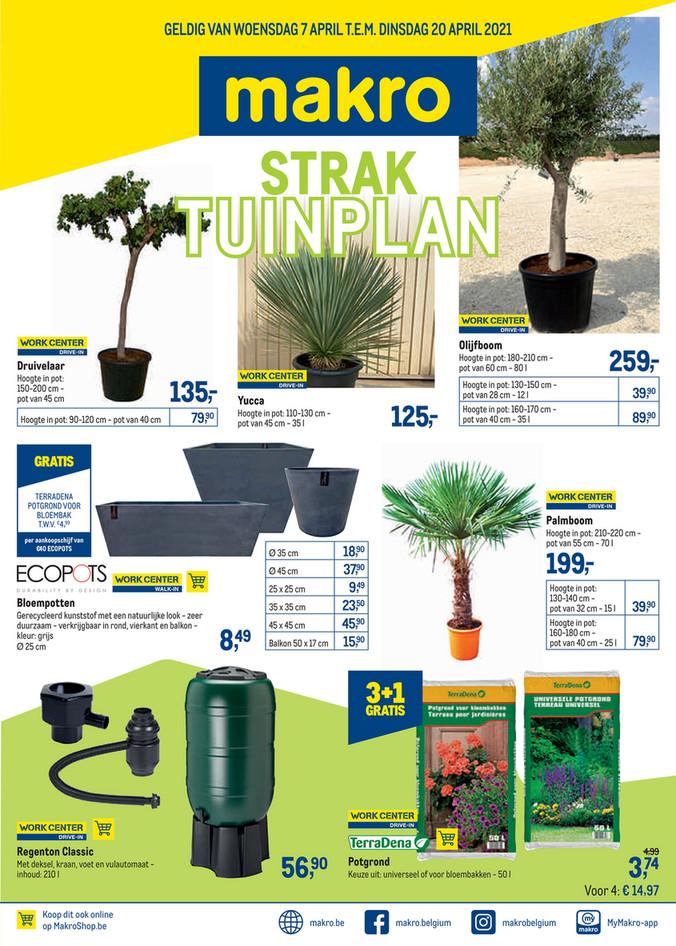 Weekpromoties 14 tuinplan