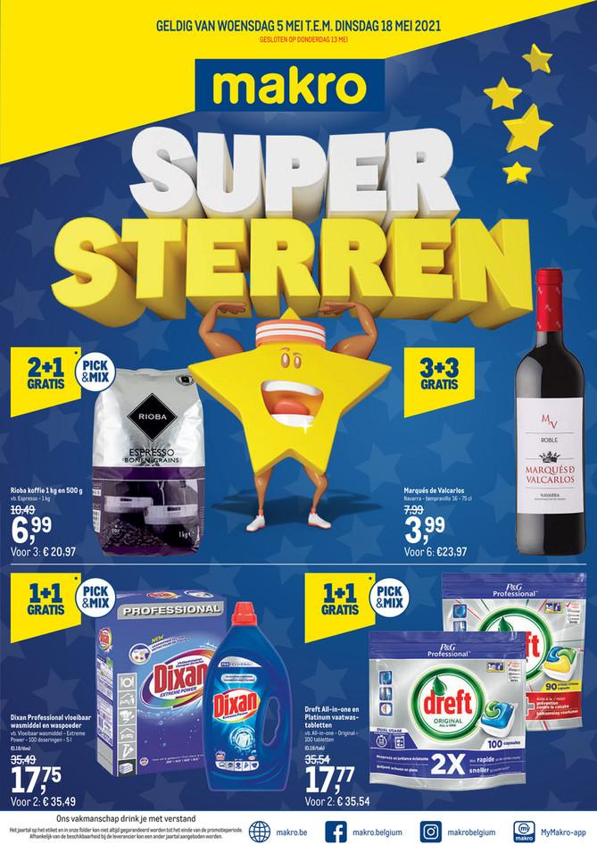Weekpromoties 18 Supersterren-F