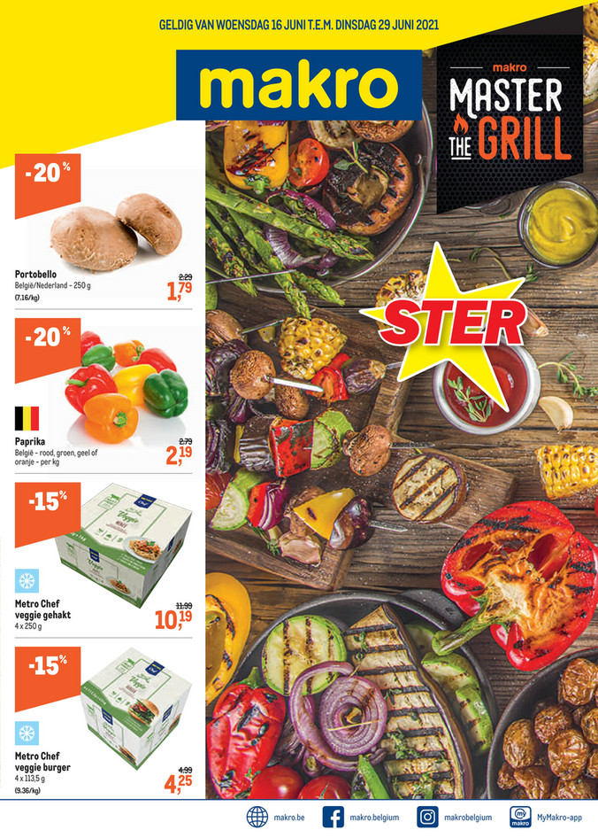 Weekpromoties 24 Mater The Grill