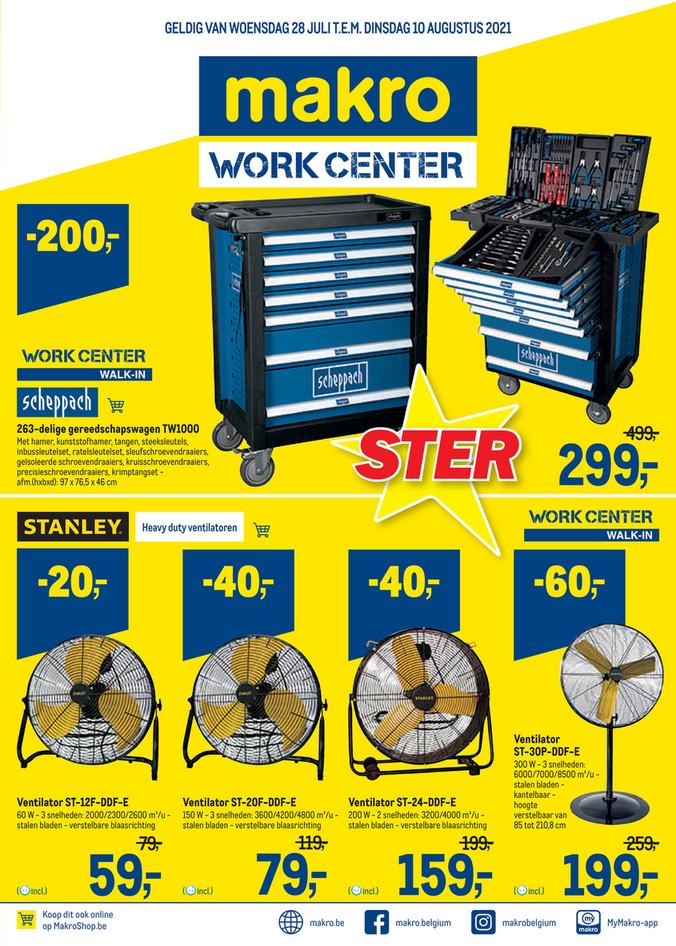 Week 29 workcenter