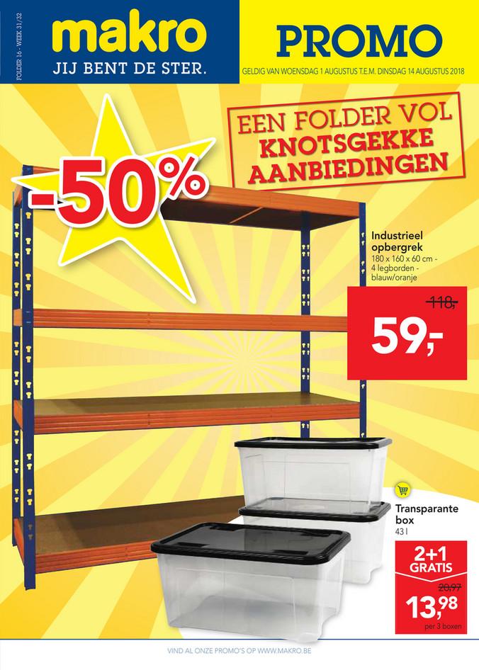 Makro folder van 01/08/2018 tot 14/08/2018 - makro-belgie-non-food