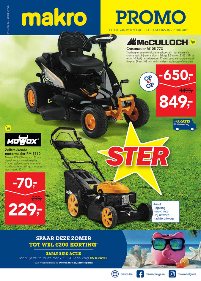 Makro folder van 03/07/2019 tot 16/07/2019 - non food