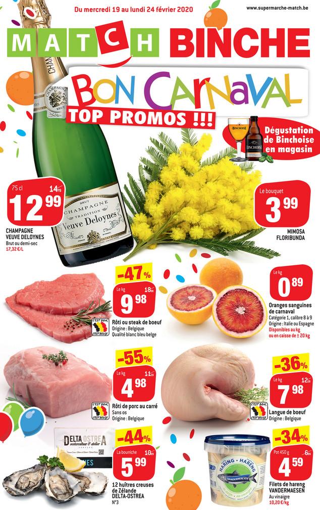 Promotions Binche
