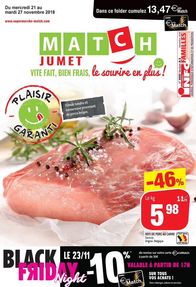 Promotions de la semaine 47 - Jumet