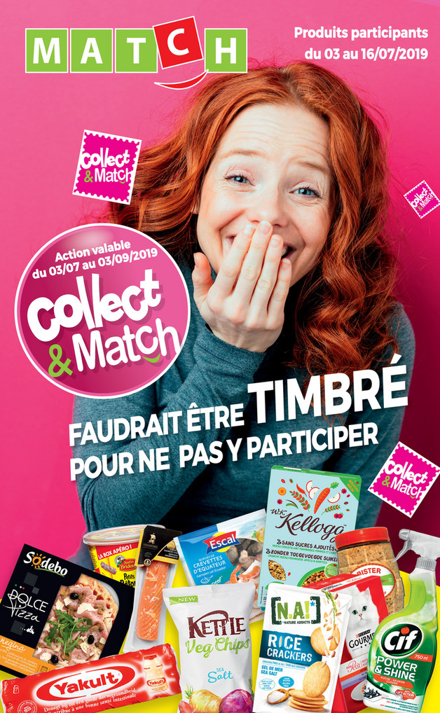Folder Match du 03/07/2019 au 17/07/2019 - Collect