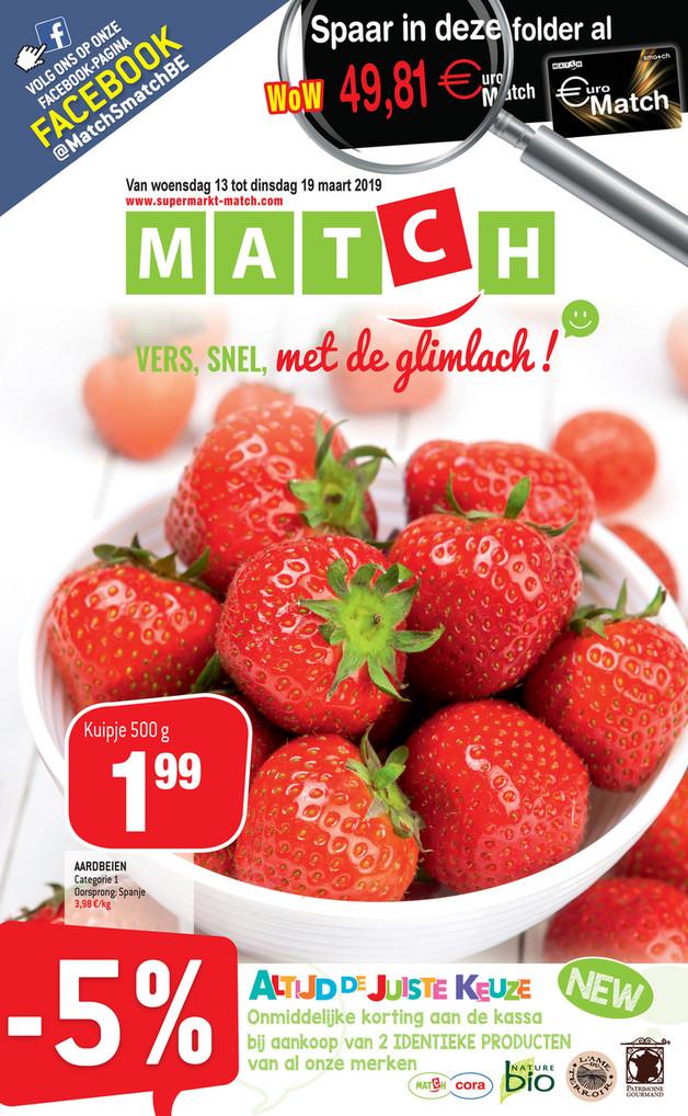Match folder van 13/03/2019 tot 19/03/2019 - Weekpromoties 11
