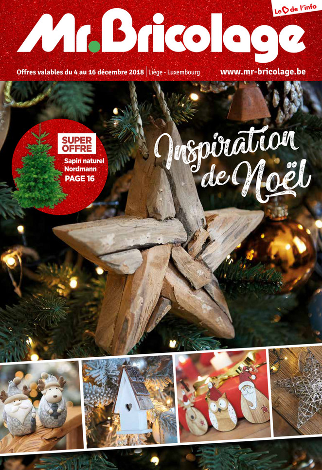 Folder Mr Bricolage du 04/12/2018 au 16/12/2018 - Noel