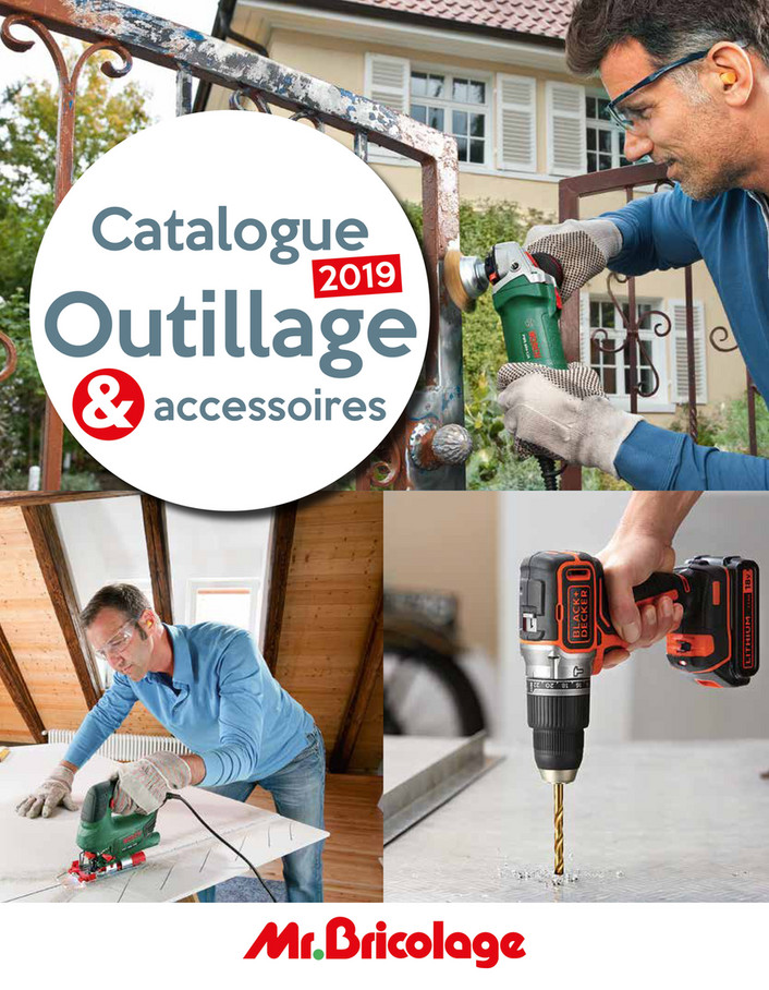 Folder Mr Bricolage du 01/06/2019 au 30/09/2019 - Catalogue outillage