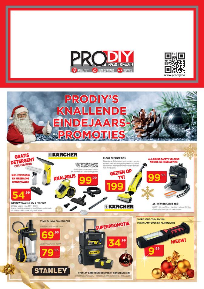 Prodiy folder van 06/12/2018 tot 31/12/2018 - Maandpromoties December