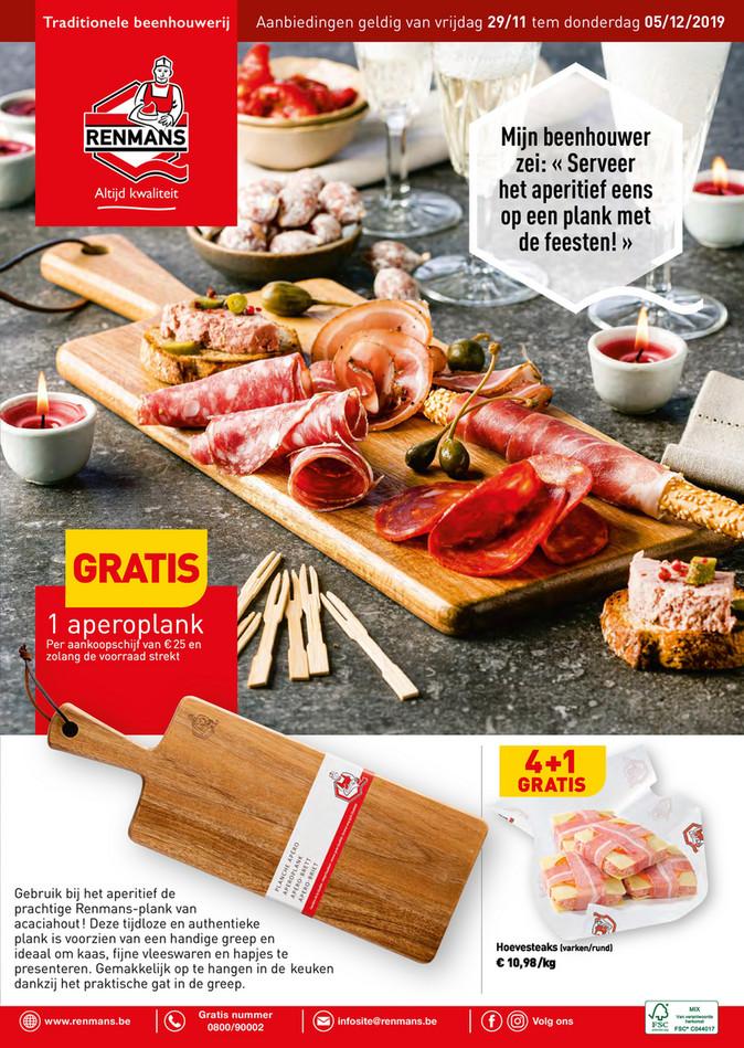 Renmans folder van 29/11/2019 tot 05/12/2019 - Weekpromoties 47