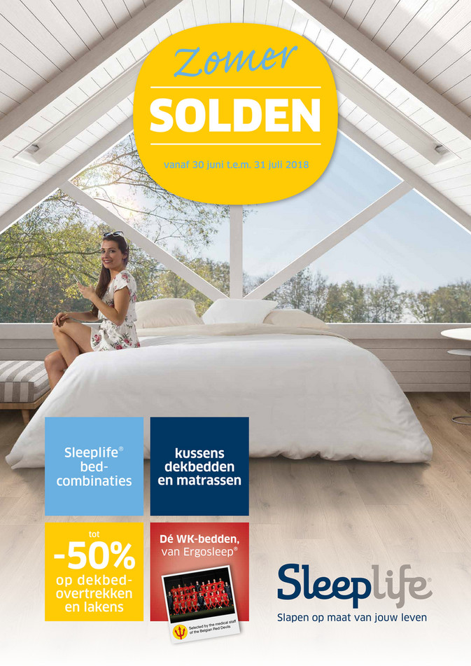 Sleeplife folder van 28/06/2018 tot 31/07/2018 - Sleeplife Solden NL