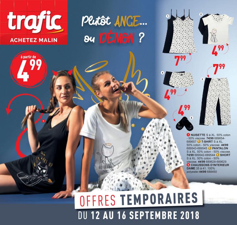 Folder Trafic du 12/09/2018 au 16/09/2018 - Promotions de la semaine 37