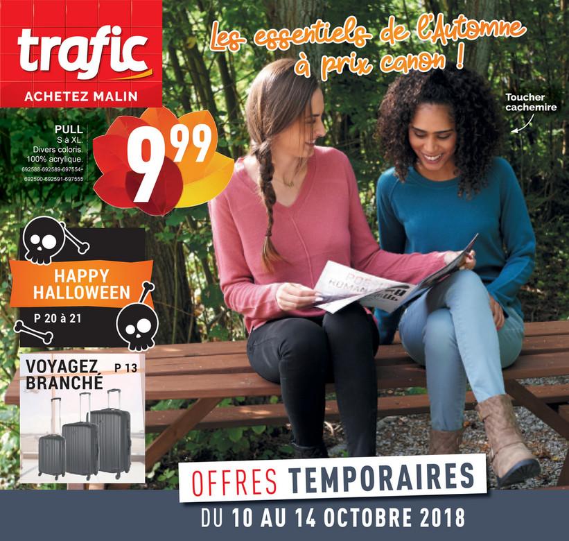 Folder Trafic du 10/10/2018 au 14/10/2018 - Promotions de la semaine 41b