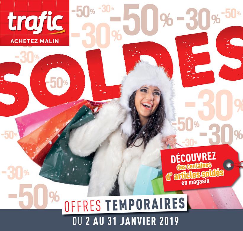 Folder Trafic du 02/01/2019 au 31/01/2019 - Promotions de la semaine 1