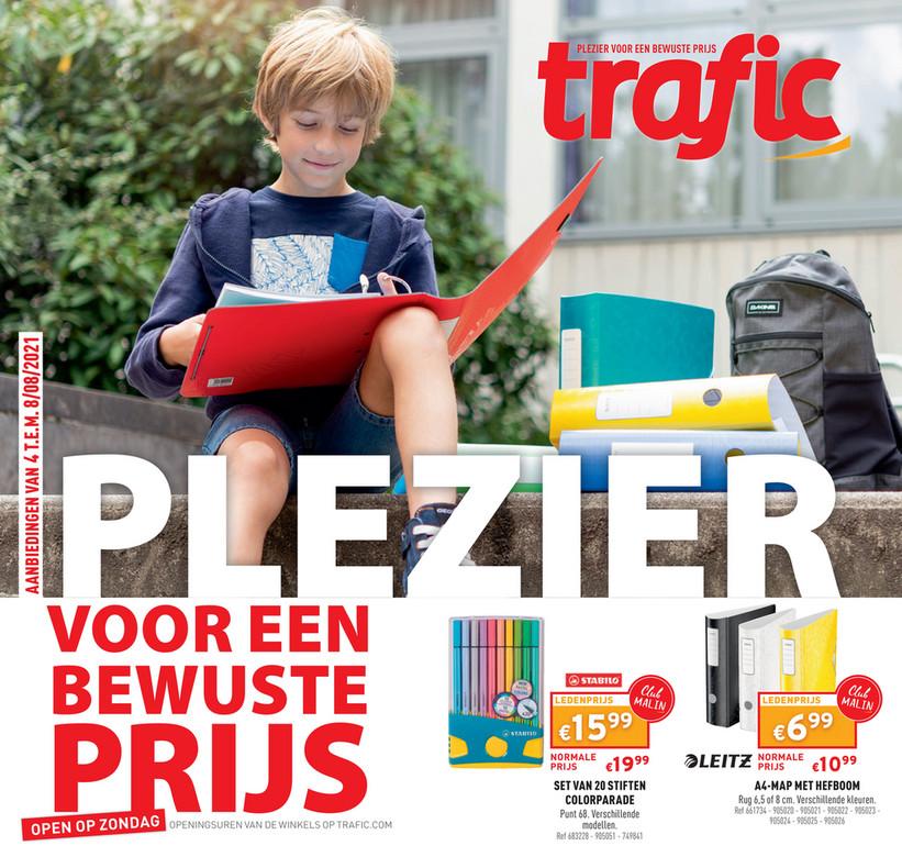 Trafic folder van 04/08/2021 tot 08/08/2021 - Weekpromoties 31