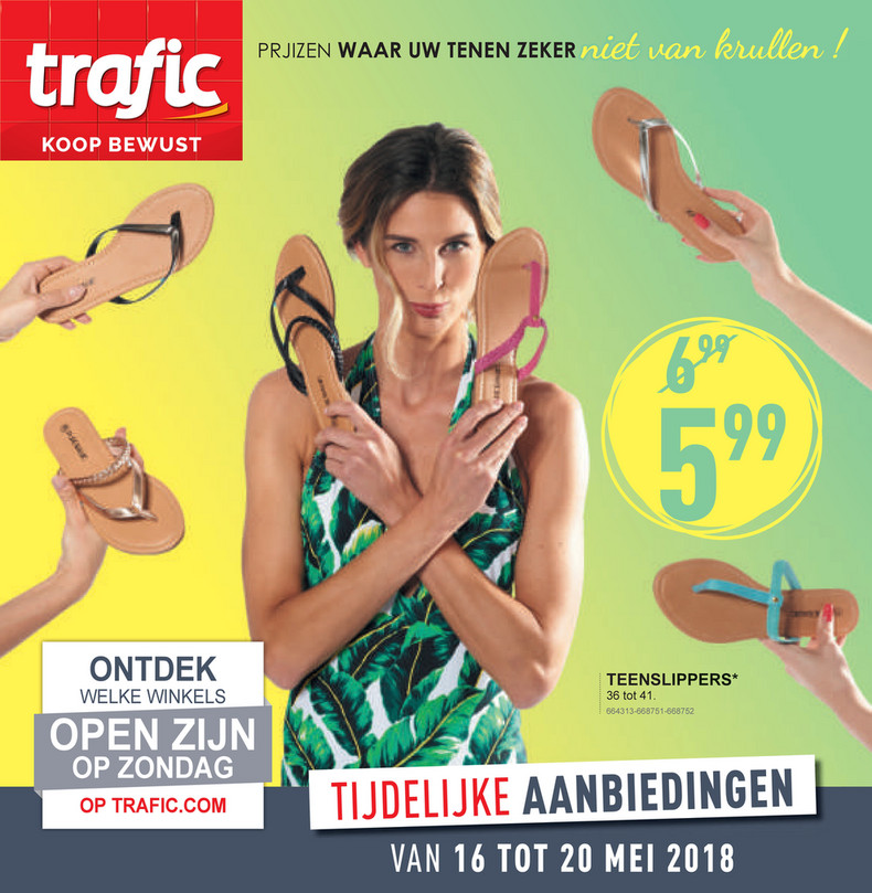Trafic folder van 16/05/2018 tot 20/05/2018 - CATALOGUE-SEMAINE-20-NL.pdf