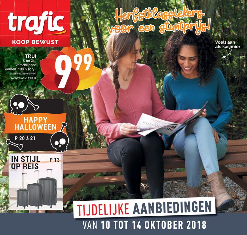 Trafic folder van 10/10/2018 tot 14/10/2018 - Weekpromoties 41b