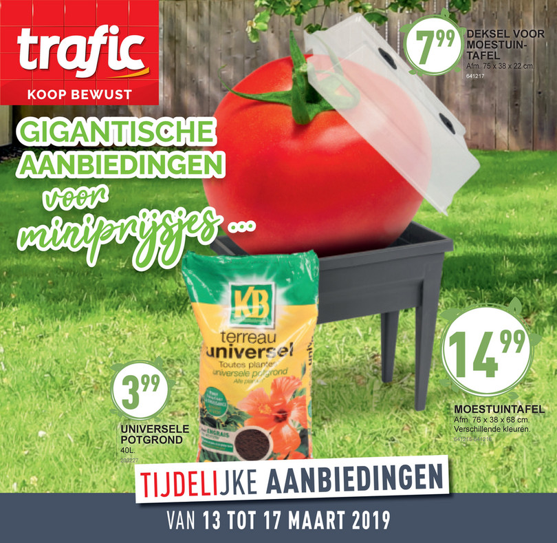 Trafic folder van 13/03/2019 tot 17/03/2019 - Weekpromoties 11