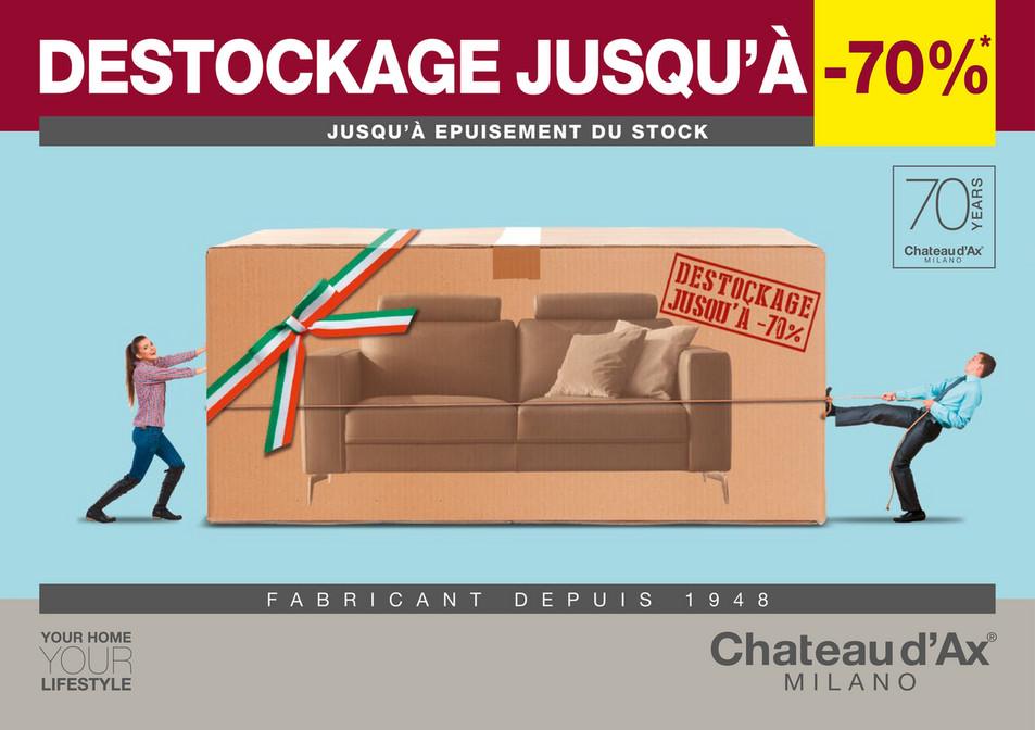 Folder Château d'Ax du 10/09/2018 au 30/09/2018 - Promotions du mois