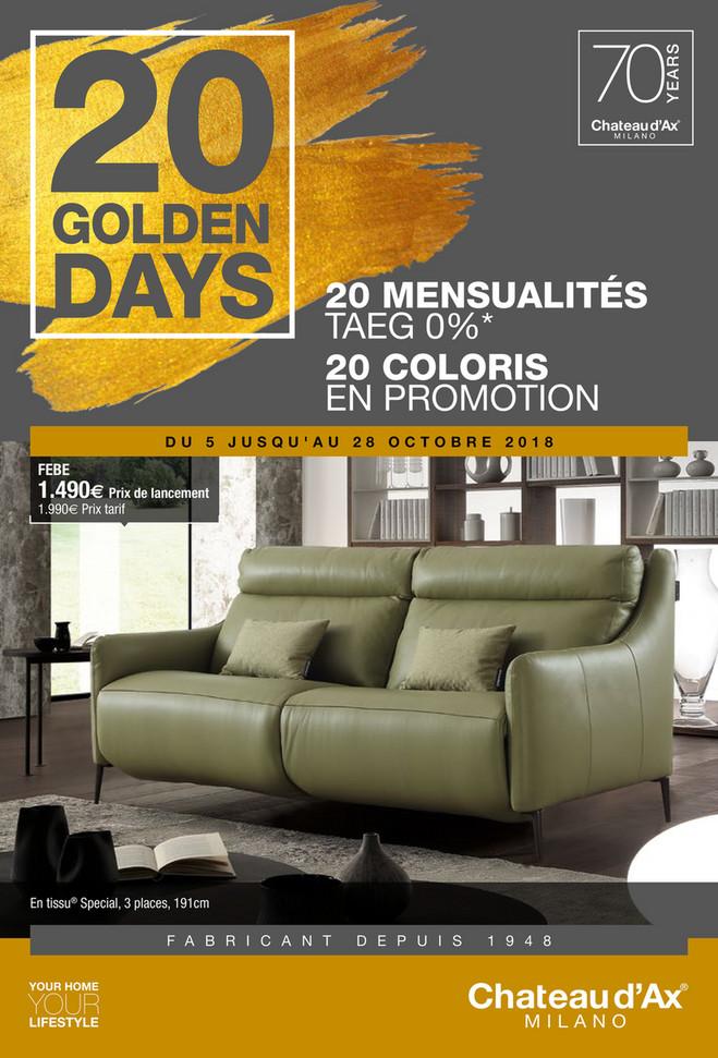 Folder Château d'Ax du 01/10/2018 au 31/10/2018 - Promotions du mois