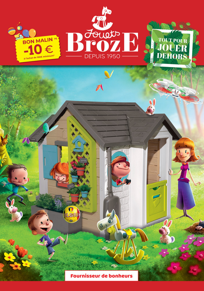 Folder Jouets Broze du 14/03/2021 au 31/07/2021 - Promotions du mois