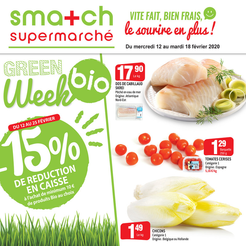 Folder Smatch du 12/02/2020 au 18/02/2020 - Promotions de la semaine 07