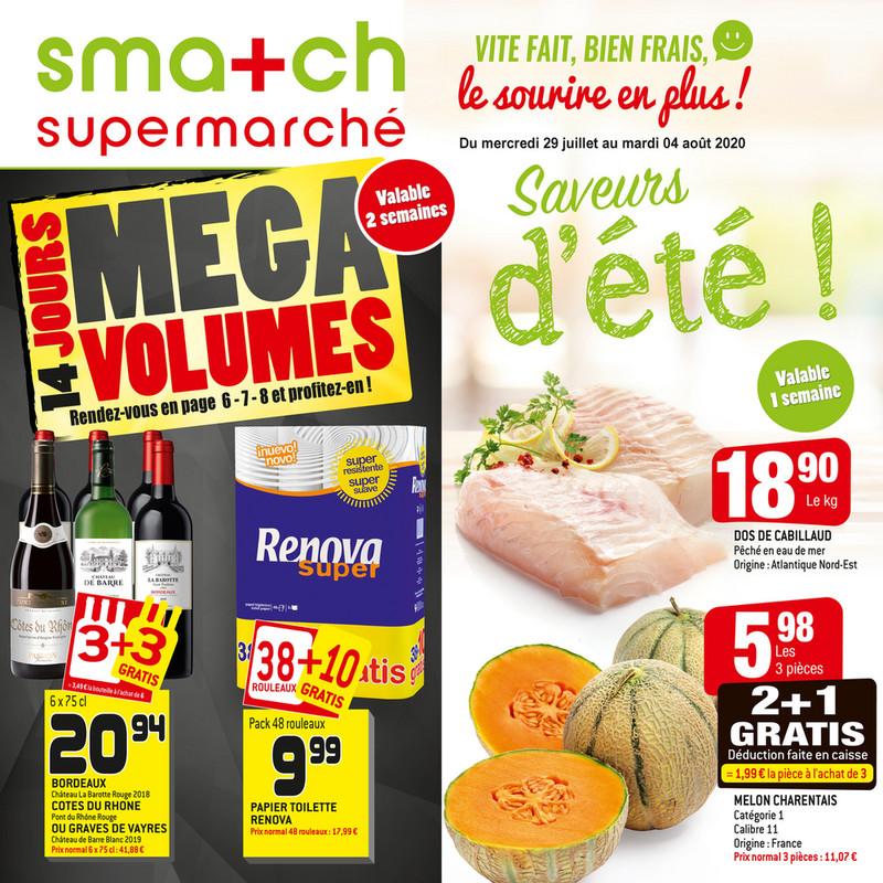 Folder Smatch du 29/07/2020 au 04/08/2020 - Promotions de la semaine 31
