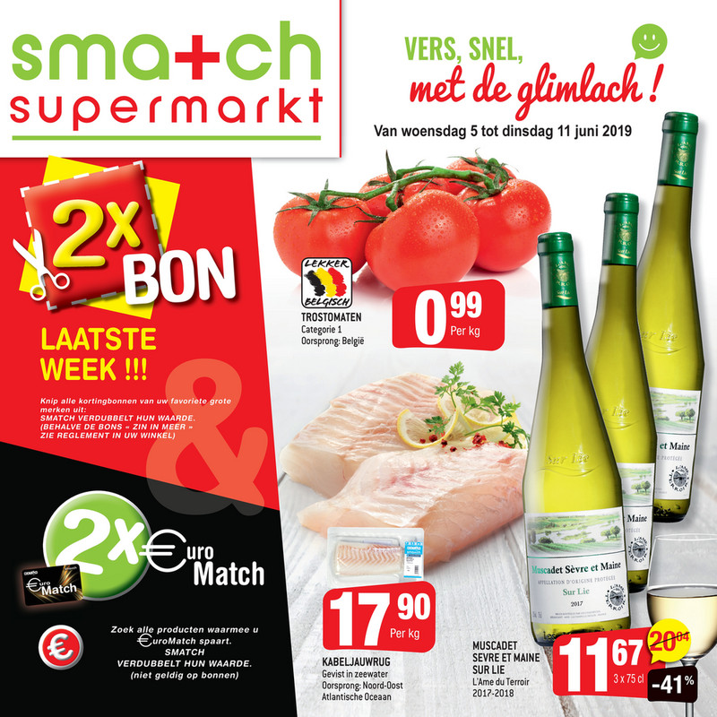 Smatch folder van 05/06/2019 tot 18/06/2019 - Weekpromoties 23