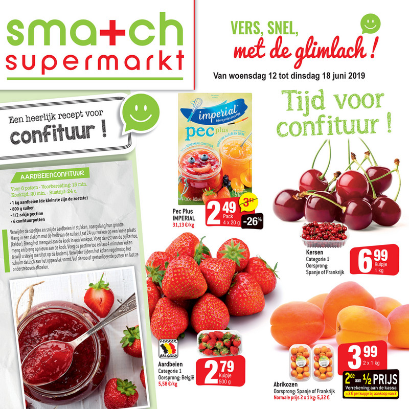 Smatch folder van 12/06/2019 tot 18/06/2019 - Weekpromoties 24
