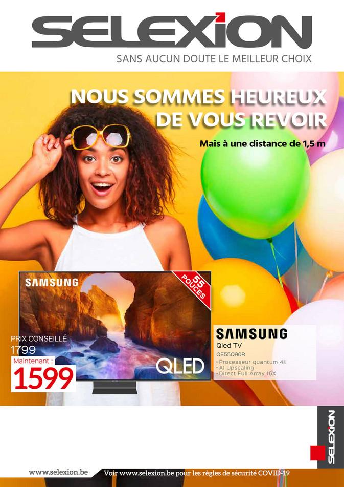 Folder Selexion du 07/05/2020 au 31/05/2020 - Promotions du mois mai