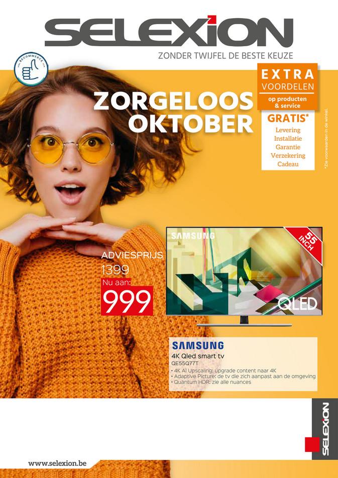 Maandpromoties oktober