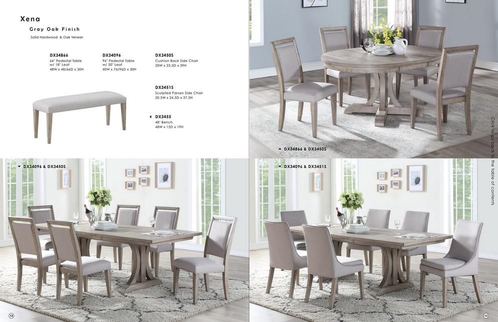 Reeds Furniture Winners Only Dining Room Catalog Page 7