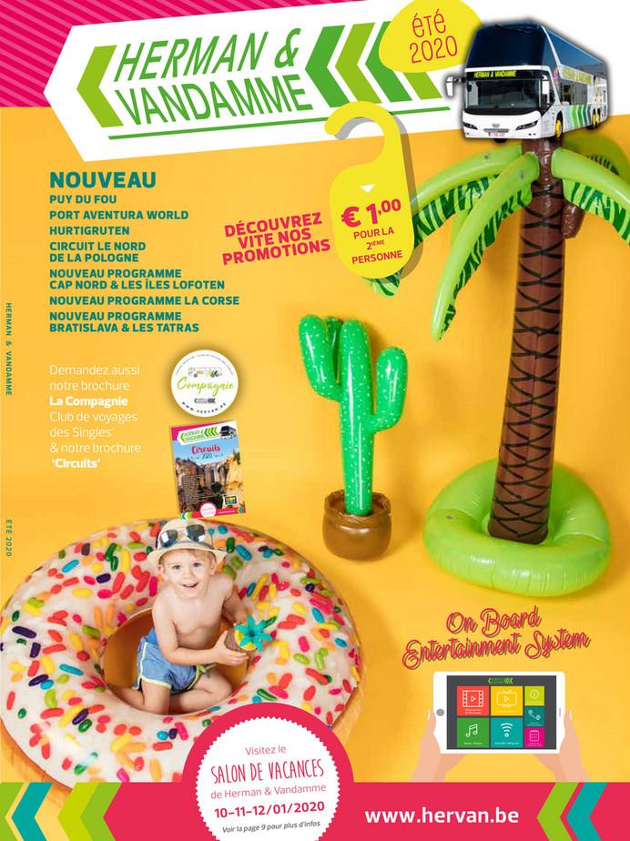 Brochure d'été