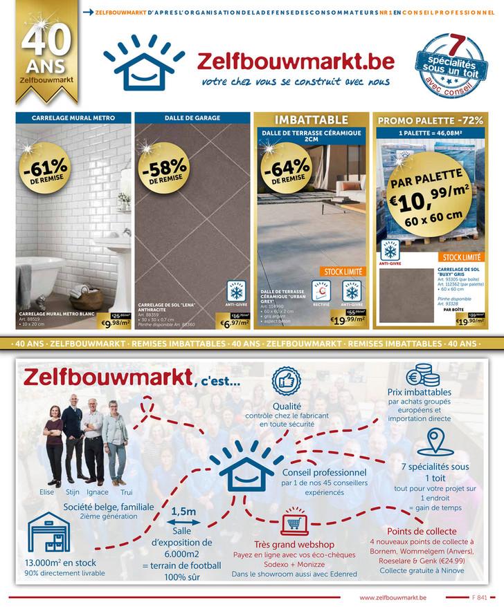 Folder Zelfbouwmarkt du 30/03/2021 au 26/04/2021 - LENTE