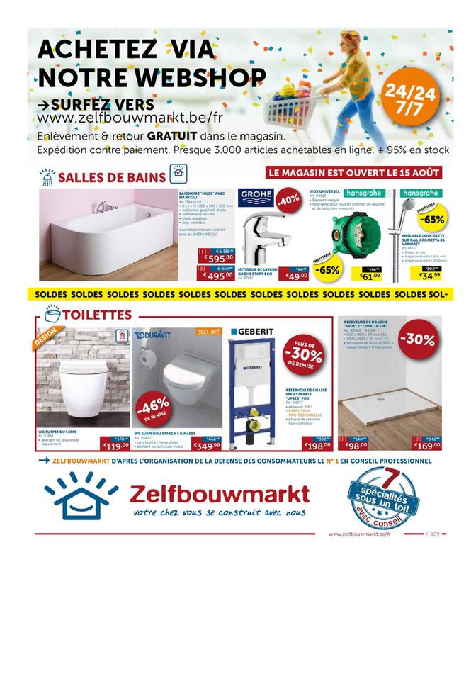 Folder Zelfbouwmarkt du 24/07/2018 au 20/08/2018 - Zelfbouwmarkt - dépliant juillet - aout.pdf