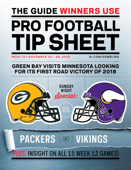 picture about Nfl Week 12 Printable Schedule identified as Weekly Idea Sheet: The Comprehensive Printable Betting Specialist in the direction of