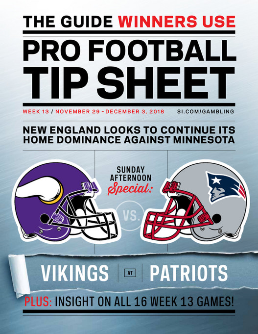 graphic about Nfl Week 13 Printable Schedule identified as Weekly Idea Sheet: The Extensive Printable Betting Specialist towards