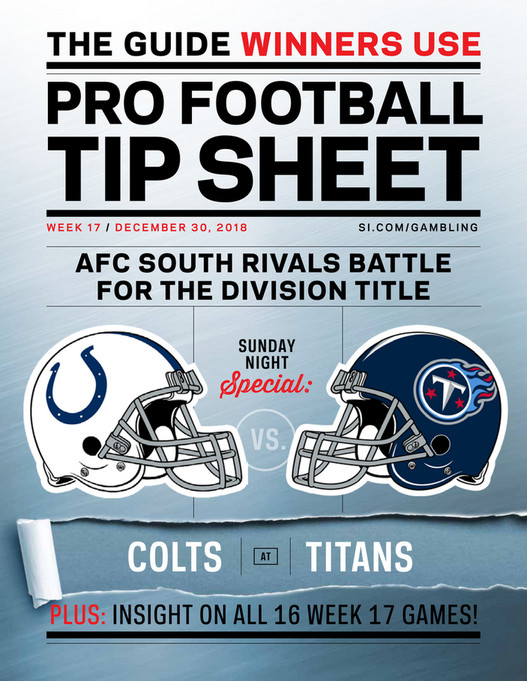 photo about Nfl Schedule Week 17 Printable named Weekly Idea Sheet: The Extensive Printable Betting Consultant toward