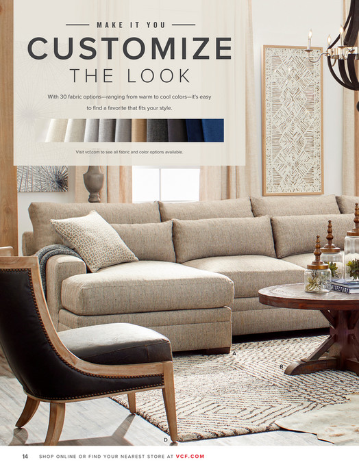 Value City Furniture Vcf Fall 2018 Look Book Page 14 15
