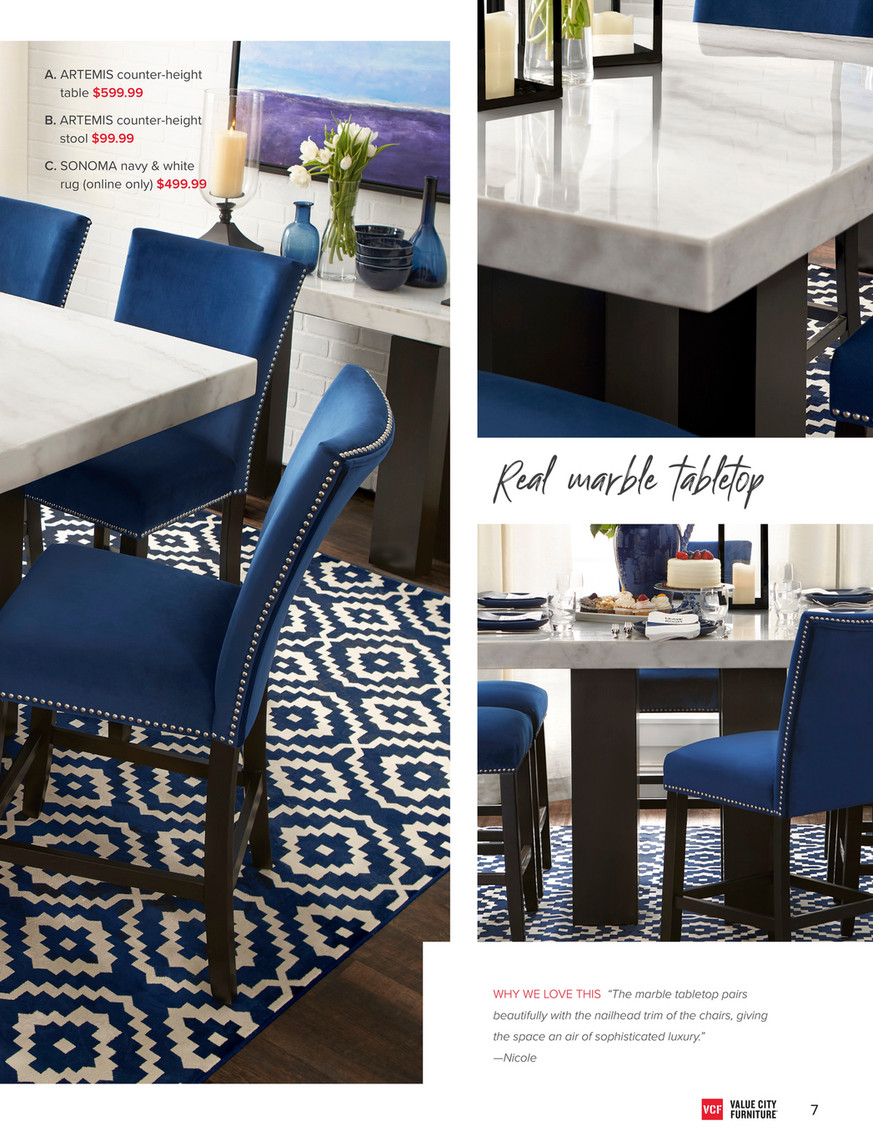 Swell Value City Furniture Vcf Fall 2018 Look Book Artemis Onthecornerstone Fun Painted Chair Ideas Images Onthecornerstoneorg