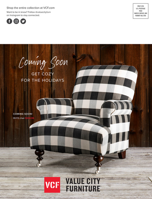 Value City Furniture Vcf Fall 2018 Look Book Page 40