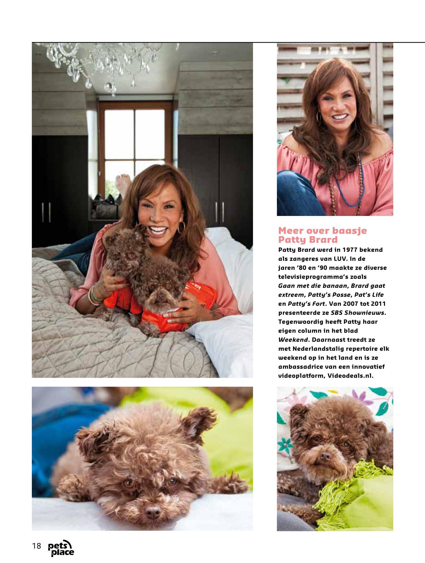 Petsplace magazine ld03 2012 pagina 18 19 for Interieur huis patty brard
