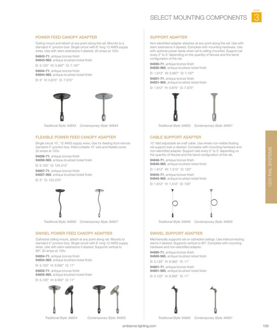 Visual Comfort Group - Ambiance 2016 Full-Line Catalog - Page 110-111