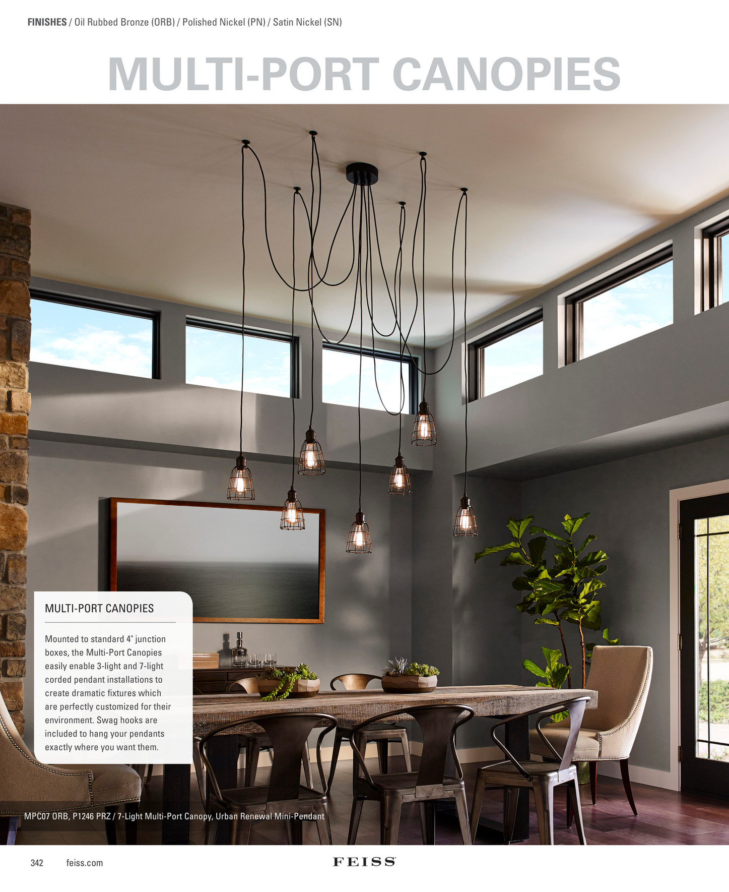 generation brands - feiss 2017 full line lighting catalog - page